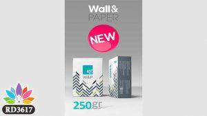 چسب کاغذ دیواری w&p